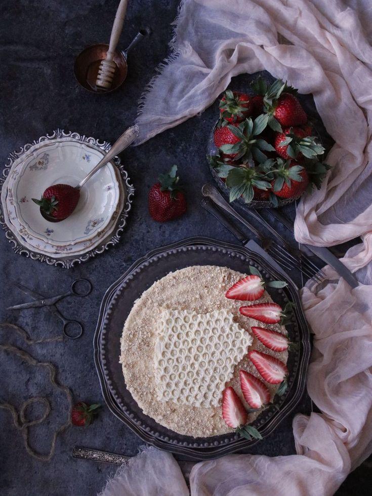 Cookies and Sweets - Rysk honungstårta - Medovik