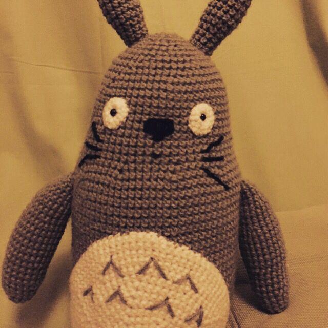 Totoro terminado  #amigurumi #totoro #crochet #mivecinototoro