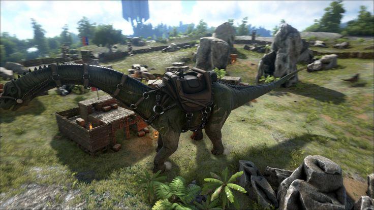 ARK SurvivalEvolved - Dinosaurs       #ARKSurvivalEvolved #SurvivalEvolved #Dinosaurios #ARK #Survival #Adventure #Action #Dinosaurs #Games