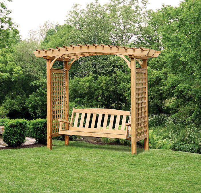 1000 ideas about arbor swing on pinterest pergola swing. Black Bedroom Furniture Sets. Home Design Ideas