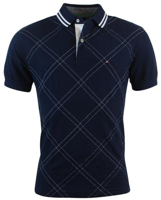 Amazon.com: Tommy Hilfiger Mens Classic Fit Argyle Stitch Logo Polo Shirt: Clothing
