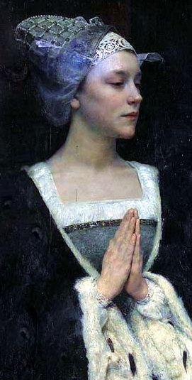 Title: Serenité   Painted: 1912   Artist: Edgar Maxence