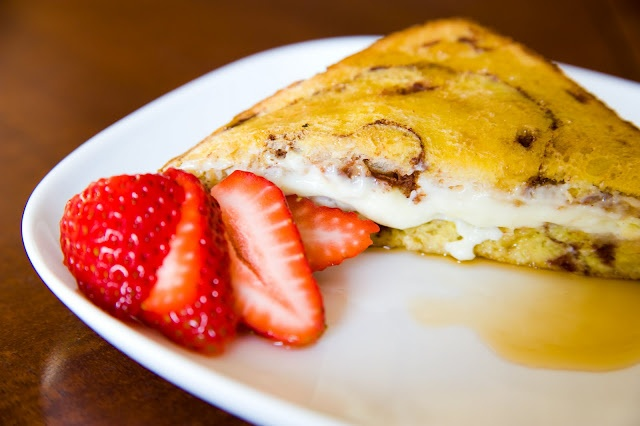 overnight cream cheese cinnamon french toast