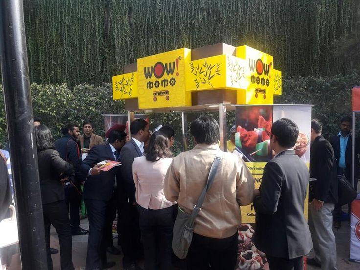 People are enjoying Wow! Momo at TiE Global Summit  #WowMomo #MomoLove #GlobalSummit #Event