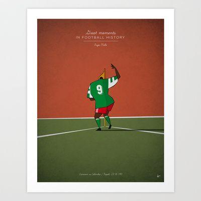 Great moments in football history - The Makossa (1990), Roger Milla