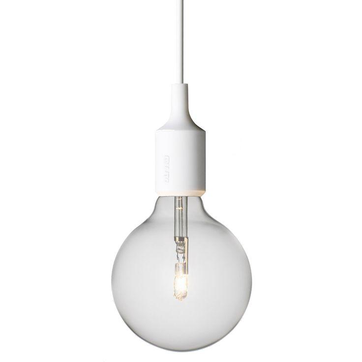 E27 lampe, hvit i gruppen Rom / Barnerom / Barneromsbelysning hos ROOM21.no (101157)