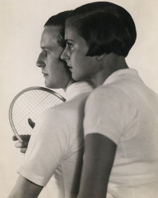 Martin Munkácsi   Tennis player Gottfried Freiherr von Cramm and his wife Elisabeth, 1930