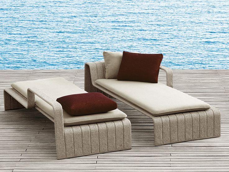 Téléchargez le catalogue et demandez les prix de Frame   bain de soleil By paola lenti, bain de soleil design Francesco Rota, Collection frame