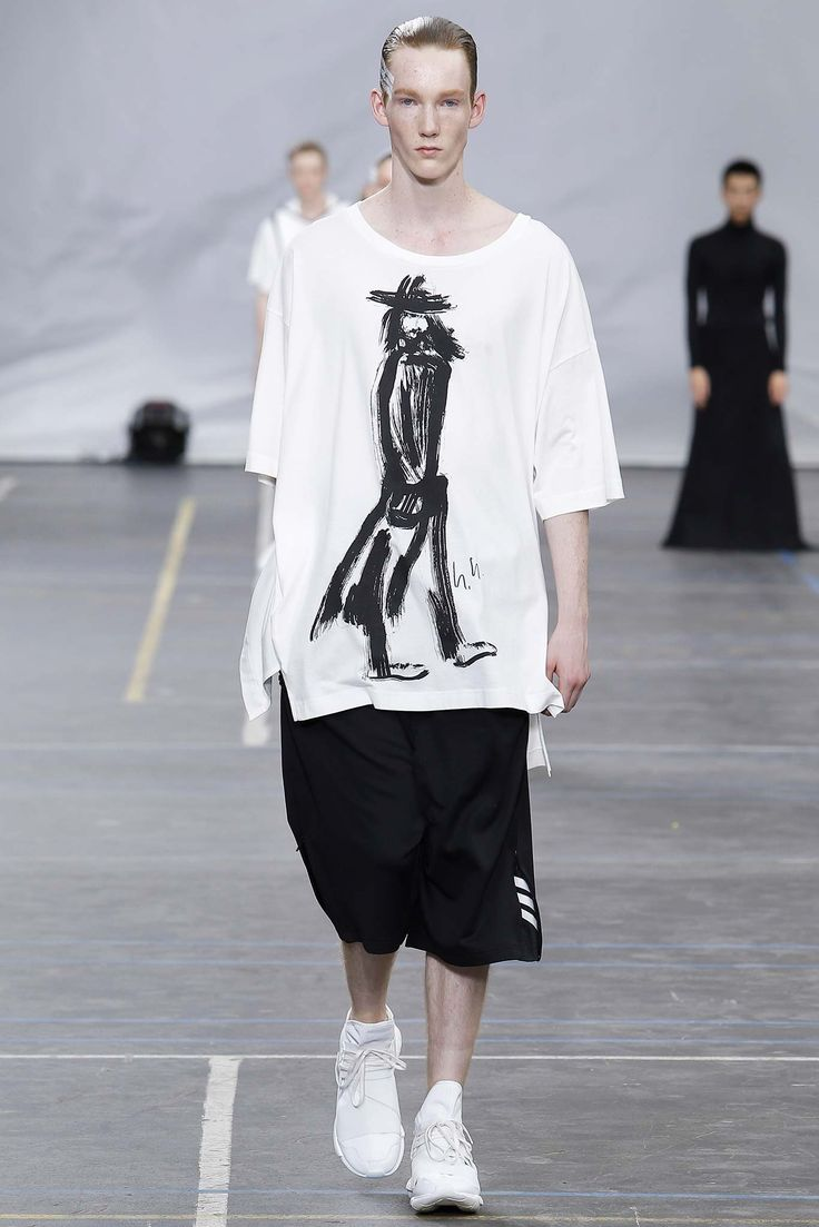 There are 12 vision street wear shoes images in the gallery - Black And White Luxe Sportswear Yohji Yamamoto For Spring Summer 2016 Mens Wear Street Wear