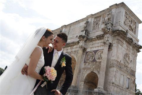 Matrimonio a Roma : The wedding day in Rome