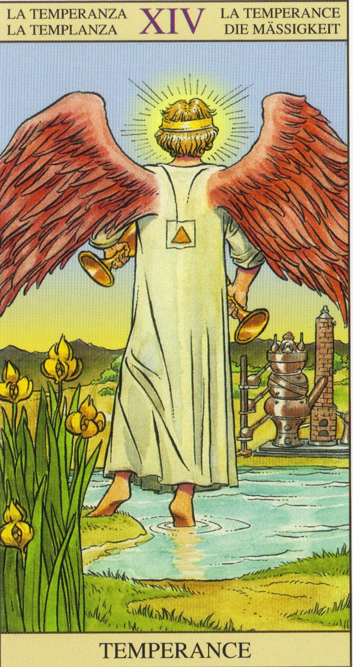 Temperance - Tarot Of The New Vision