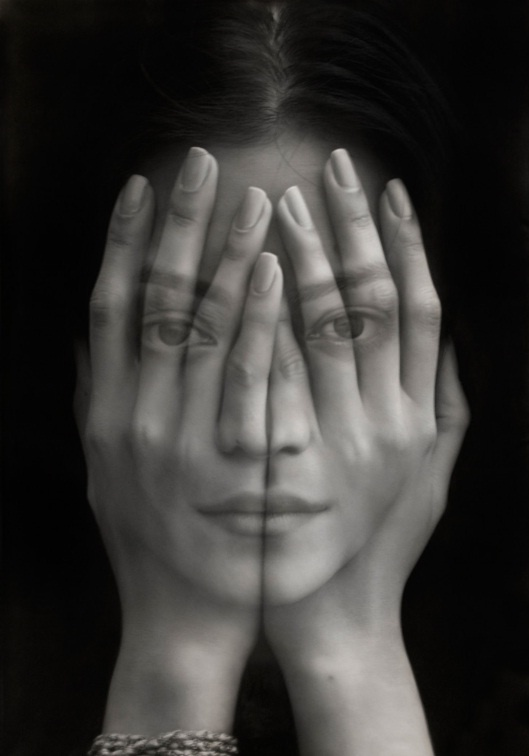 Tigran Tsitoghdzyan, mirror (2012) oil on canvas