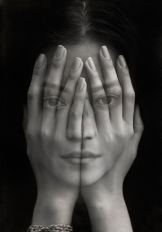 Tigran Tsitoghdzyan, mirror (2012) oil on canvas