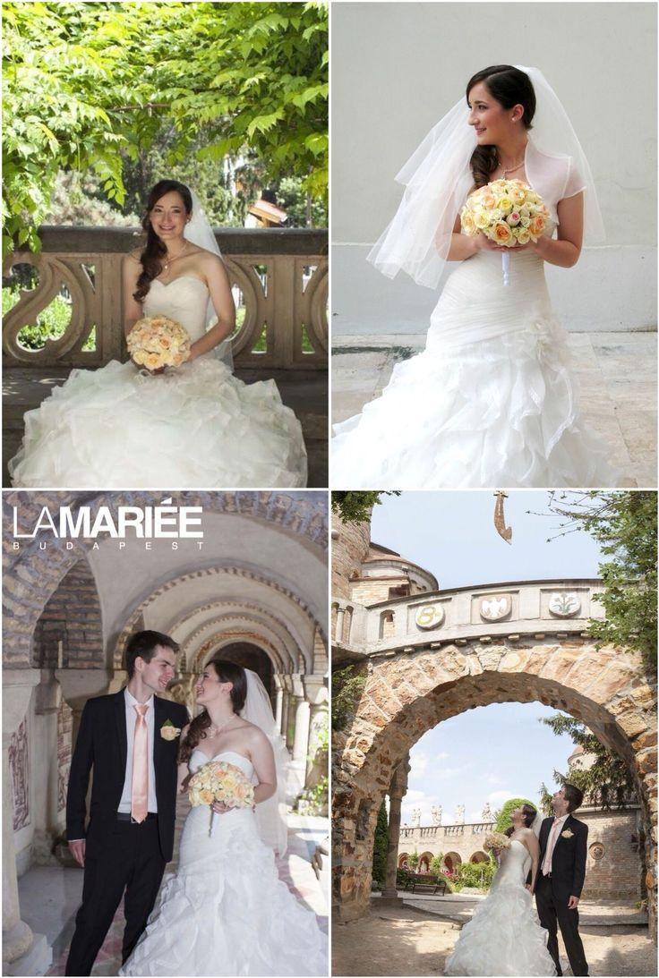 Rosa esküvői ruha - Aire Barcelona   Alexandra menyasszonyunk   http://mobile.lamariee.hu/menyasszonyi-ruha-kollekciok/eskuvoi-ruhak/aire-2013