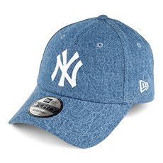 Casquette 9FORTY Denim Essential New York Yankees bleu NEW ERA