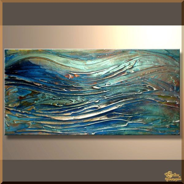 Abstract - 284 Абстракция, картины, картина маслом, сувенир, подарки