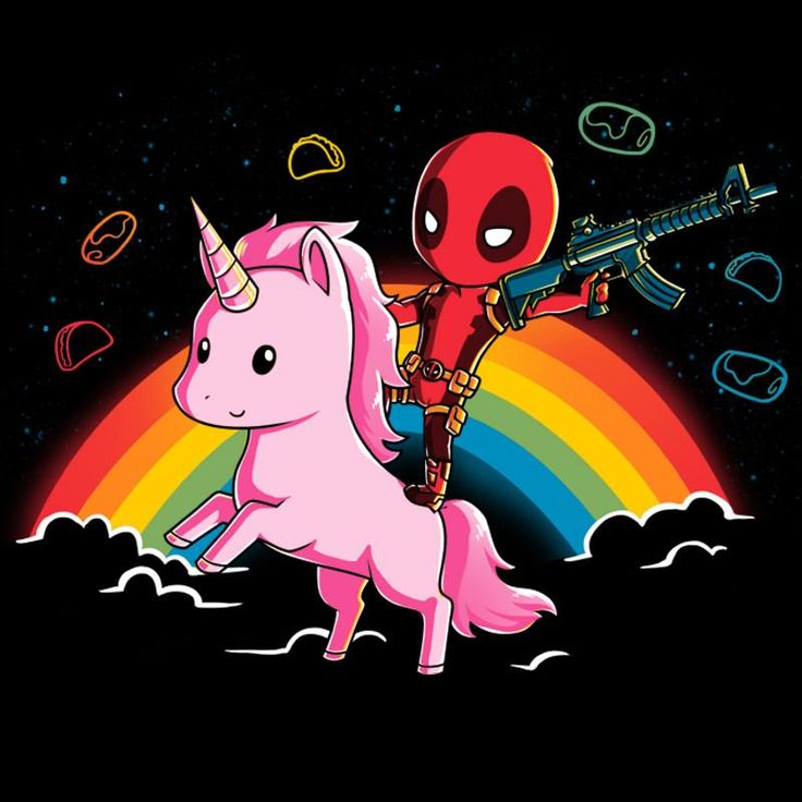 cartoon unicorn iphone wallpaper