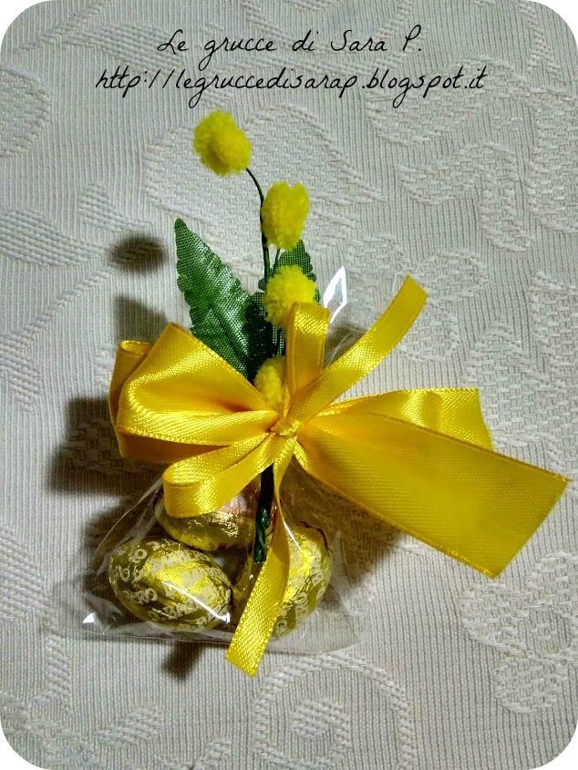 Ovetti pasquali confezionati per la Festa della Donna