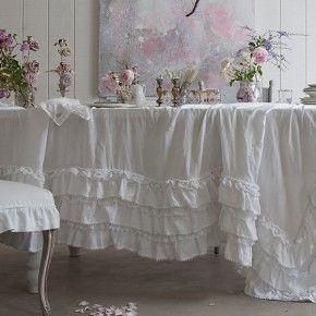 White Petticoat Tablecloth