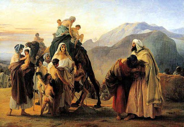 Ιακώβ και ο Ησαύ (1844)