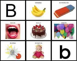 Resultado de imagem para objetos que come am com a letra b for B b com