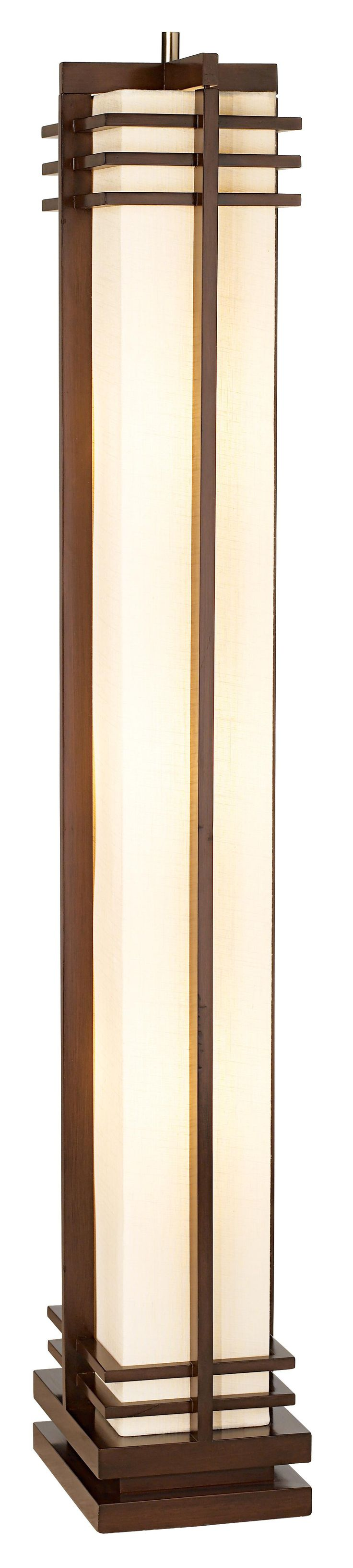1000 ideas about designer floor lamps on pinterest Possini euro design deco style walnut column floor lamp