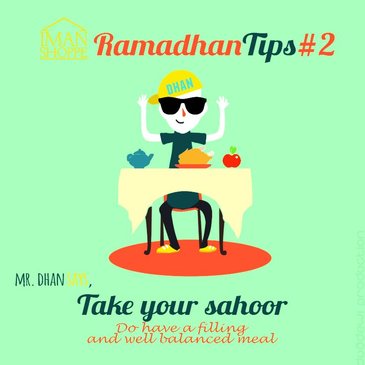 """Iman Shoppe Ramadhan Tips #2 Mari bersama-sama kita mengamalkan pengambilan makanan yang seimbang  Sabda Nabi SAW, تَسَحَّرُوا فَإِنَّ فِي السَّحُورِ بَرَكَةً Maksudnya: """"Bersahurlah, kerana sesungguhnya pada sahur (makanan) itu ada keberkatan."""" (Riwayat Al Bukhari dan Muslim) #RamadhanMilikKita #RamadhanTips"""