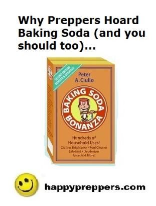 Miraculous BAKING SODA and why PREPPERS HOARD IT: http://www.happypreppers.com/baking-soda.html