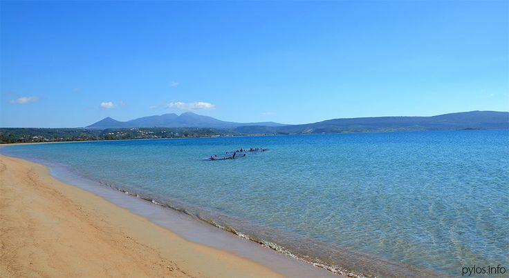 Divari beach - the shipwreck spot - Navarino bay. Pylos, Messinia, Greece http://pylos.info