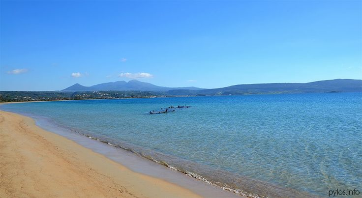 Divari beach - the shipwreck spot - Navarino bay. Pylos, Messinia, Greece http://pylos.info