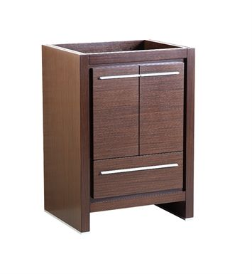 """Fresca FCB8125WG Allier 24"""" Wenge Brown Modern Bathroom Cabinet"""