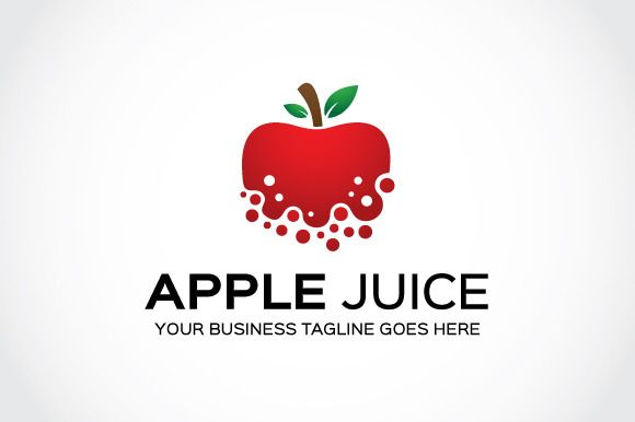 Check out Apple Juice Logo Template by mudassir101 on Creative Market