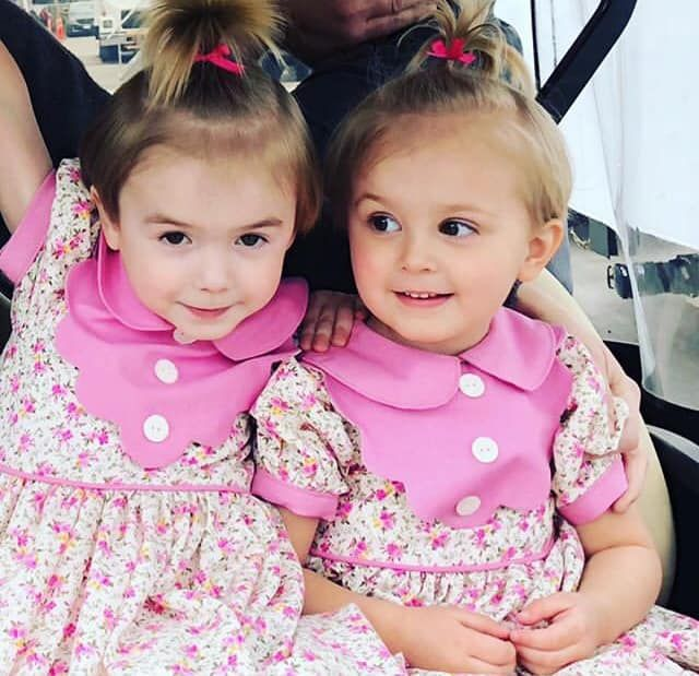 Presley With Her Stunt Double With Images A Series Of