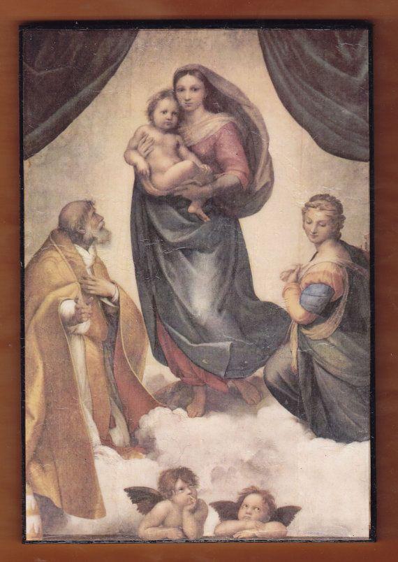 The Sistine Madonna  the Madonna di San Sisto Raphael by teogonia