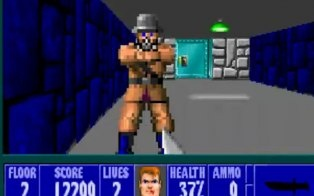 In honor of Wolfenstein 3D's 20th anniversary, the game will be released for free to play in browser today.