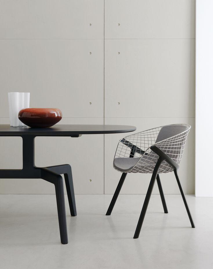 kobi #chair by Patrick Norguet & stabiles #table by Alfredo Haeberli  #design #interiordesign #homedesign #interiors #furniture