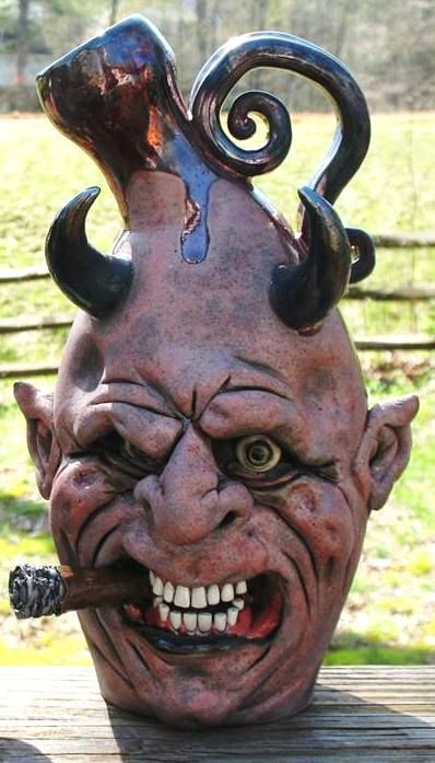 286 Best Jug Faces Images On Pinterest Pottery Ceramic