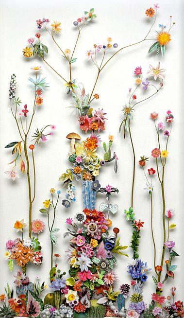 Anne Ten Donkelaar's magical collages.