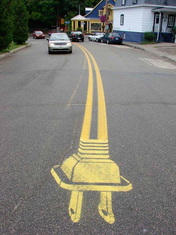 challenge photo: jaune et street art 2/2