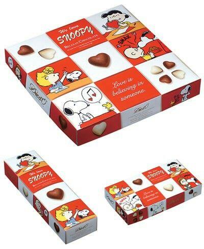 Snoopy Valentine choco