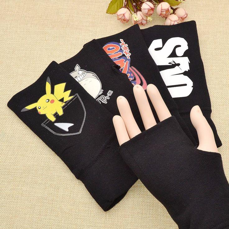 Half Finger Gloves // Price: $10.23 & FREE Shipping Worldwide //    #fulmetal #alchemist #emo #animefan #otp #cosplayer #anime