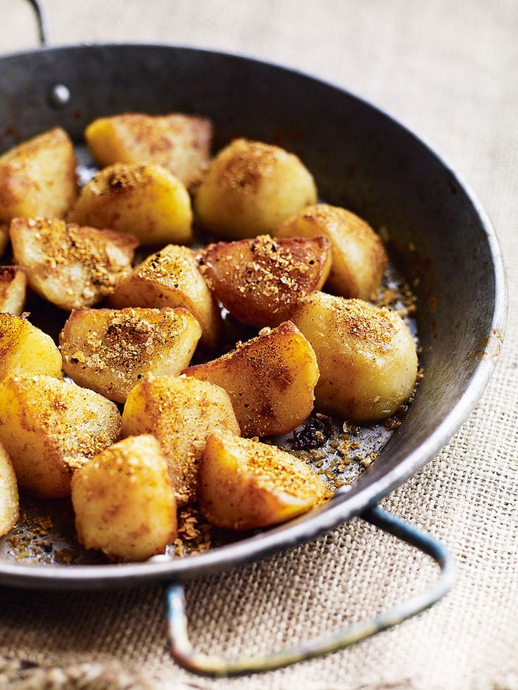 Debbie Major's quick and easy recipe for curry-spiced sautéed potatoes is perfect for changing up a classic side dish.