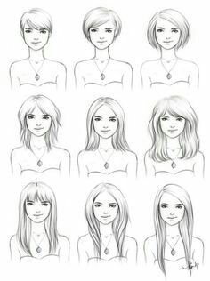 Progressive hairstyle options for #MtF while growing #hair #transisbeautiful