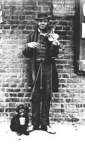 London Street Fiddler circ. 1880 is this your ancestor? #saveoldphotos