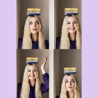 Check out our style crush Elle Fanning on set for Vogue #CovetMe #covetme
