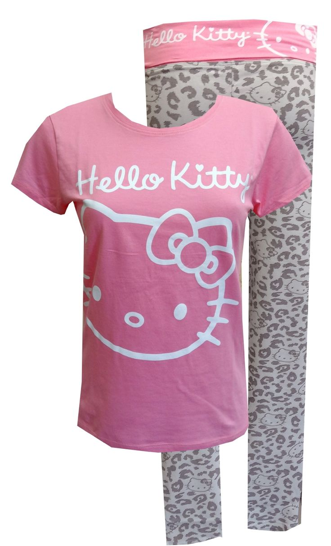 Design your own hello kitty t-shirt - Hello Kitty Animal Instinct Yoga Pant Pajama Set Make Sure To Check Out My Fitness Tips