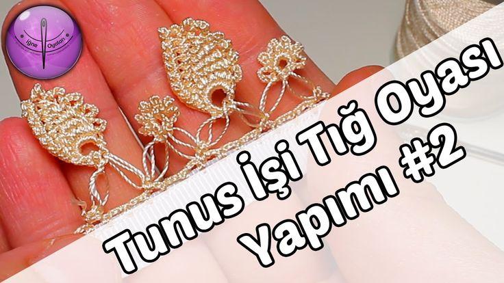 Tunus İşi Tığ Oyası Yapımı #2 HD Kalite