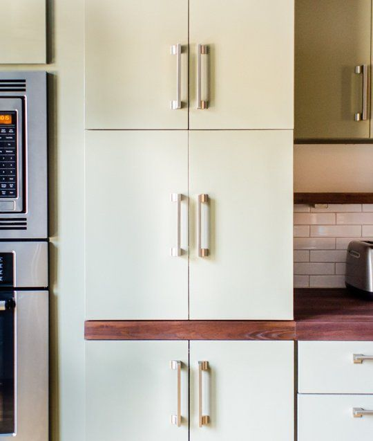 A Genius Hidden Coffee Station — Kitchen Tour So cool!!! I want to do this.
