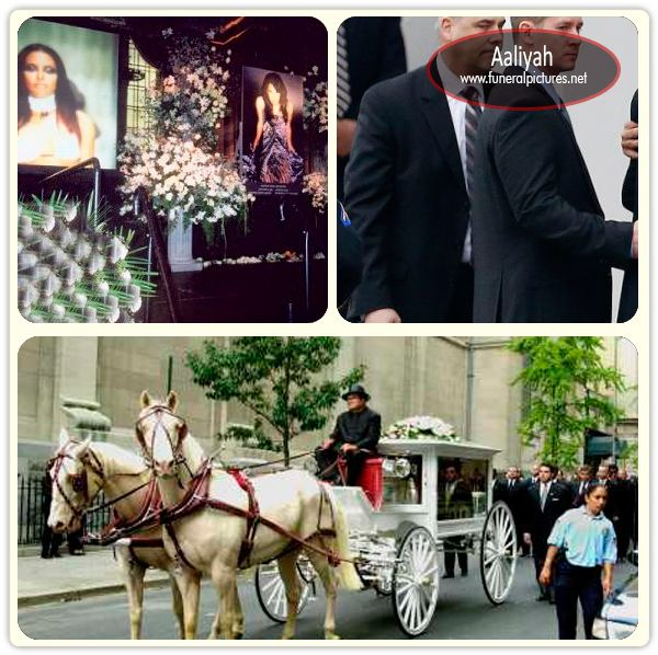Aaliyah funeral pictures