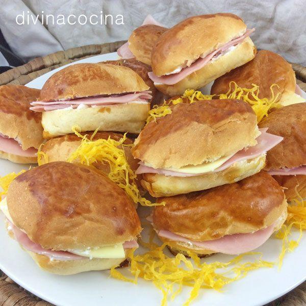 Rellenos para medias noches y croissants
